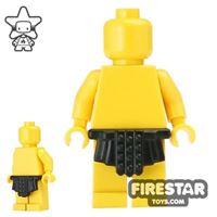 Product shot BrickWarriors - Roman Skirt - Black