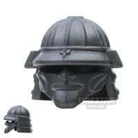 Product shot BrickWarriors - Samurai Helmet - Steel