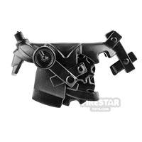 Product shot BrickWarriors - Steampunk Armour - Black
