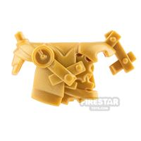 Product shot BrickWarriors - Steampunk Armour - Pearl Gold