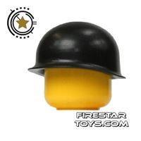 Product shot Brickarms - M1 Steel  Pot Helmet - Black