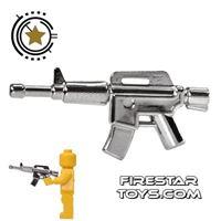 Product shot Brickarms - M4 - Chrome Silver