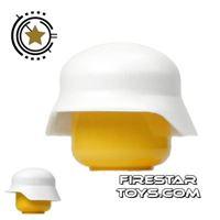 Product shot Brickarms - Stahlhelm Helmet - White