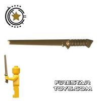 Product shot Brickarms - Tactical Sword - Bronze