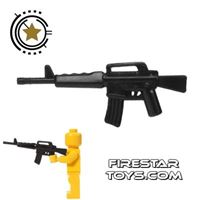 Product shot CombatBrick - M16 Assault Rifle - Black