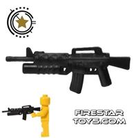 Product shot CombatBrick - M16A2 with M203 Grenade Launcher - Black