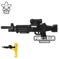 Product shot CombatBrick - M249 SAW Light Machine Gun - Black