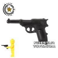 Product shot CombatBrick - WWII German Walther P38 Pistol - Black