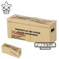 Product shot Custom Design - Classified Top Secret Crate