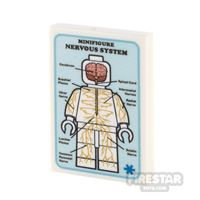 Product shot Custom Printed Tile 2x3 Medical Poster Nervous System