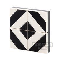 Product shot Floor Tile Pack - Diagonal Pattern Set