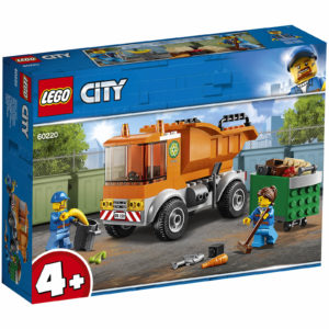 LEGO 4+ City: Great Vehicles Garbage Truck Toy (60220)