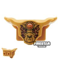 Product shot LEGO - Armour Breastplate - Bladvic Flame