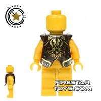 Product shot LEGO - Armour Breastplate - Gold King Theoden Pattern