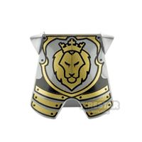 Product shot LEGO - Armour Breastplate - Lion Head