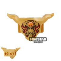 Product shot LEGO - Armour Breastplate - Razar Flame