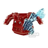 Product shot LEGO Armour Breastplate with Crystals