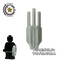 Product shot LEGO - Bladed Claw - Flat Silver