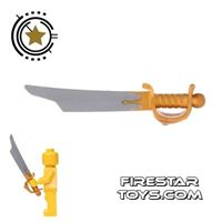 Product shot LEGO - Cutlass With Gold Handle