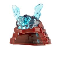 Product shot LEGO Samurai Helmet with Horns