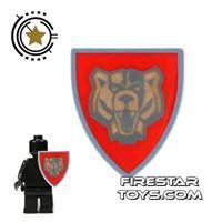 Product shot LEGO - Santis Bear Shield