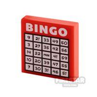Product shot Printed Tile 2x2 Bingo Card