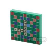 Product shot Printed Tile 2x2 - Scrabble Board