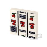 Product shot Printed Tile 2x2 Slot Machine