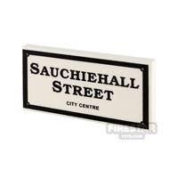 Product shot Printed Tile 2x4 - Sauchiehall Street Sign