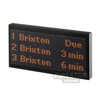Product shot Printed Tile 2x4 - Tube Dot Matrix Board