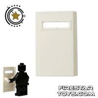 Product shot SI-DAN - Bulletproof Shield - White