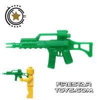 Product shot SI-DAN - G36C - Green Army