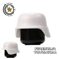 Product shot SI-DAN - German M35 Helmet - White