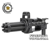 Product shot SI-DAN - Minigun with spinning barrel - Iron Black
