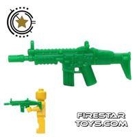 Product shot SI-DAN - SCAR_D - Green Army
