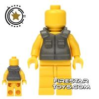 Product shot SI-DAN - Tactical Vest AA1 - Iron Black