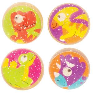 Dinosaur Glitter Jet Balls (Pack of 10)