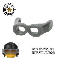 Product shot LEGO - Visor Goggles - Gray