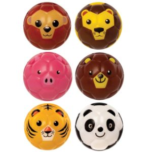 Animal Squeezy Balls (Pack of 6)