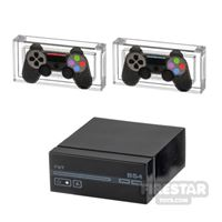 Product shot Custom Design - BrickStation 4 - Black