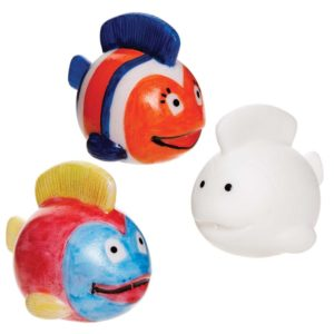 Design Your Own Tropical Fish Water Squirters (Pack of 6)