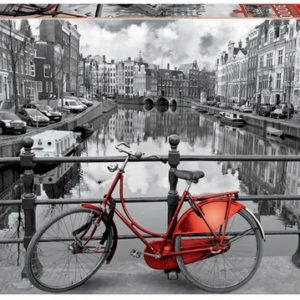 EDUCA Amsterdam Black and White 3000 Piece Jigsaw Puzzle