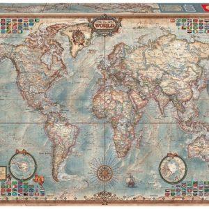 Educa Historic World map 4000 Piece Jigsaw Puzzle