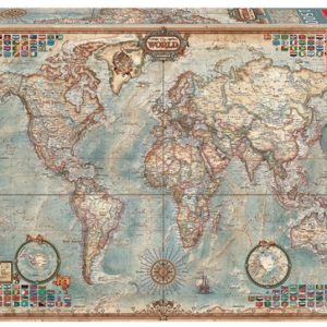 Educa Political Map of The World 1500 Piece Jigsaw Puzzle