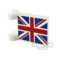 Product shot Printed Flag with 2 Holders 2x2 UK Flag