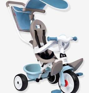 Baby Balade Plus Tricycle - SMOBY blue light solid