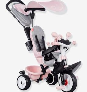 Baby Driver Plus Tricycle - SMOBY grey light solid