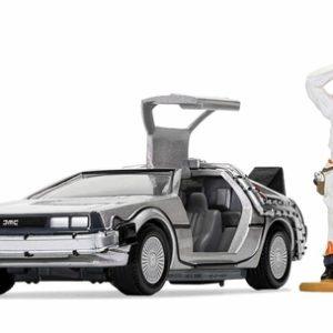 Corgi Back to the Future DeLorean and Doc Brown Figure