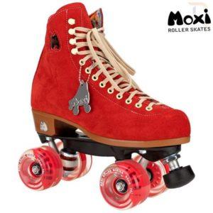 Moxi Lolly Roller Skates - Poppy Red - Kids